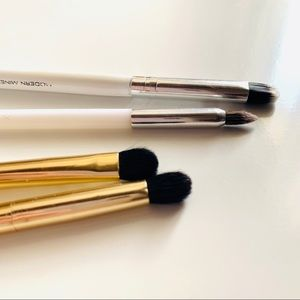 Makeup Brush Bundle Gold and White